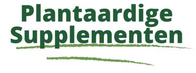 Plantaardige Supplementen Webshop